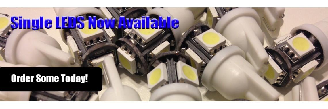Single LEDS
